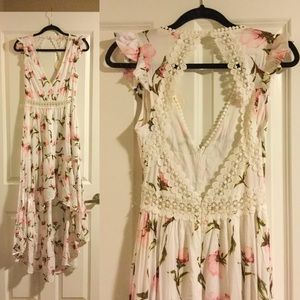 Small High-low Backless Dress